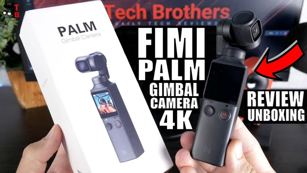 FIMI Palm - REVIEW, Unboxing and Video Test Day and Night