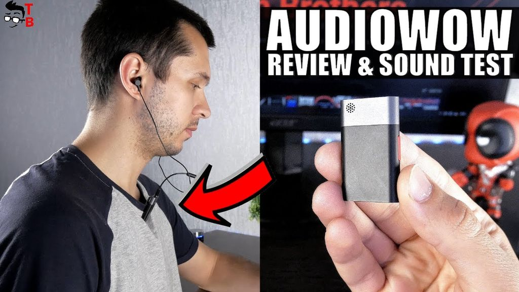 Sabinetek AudioWow REVIEW: This Tiny Device Is Wireless Audio Studio!