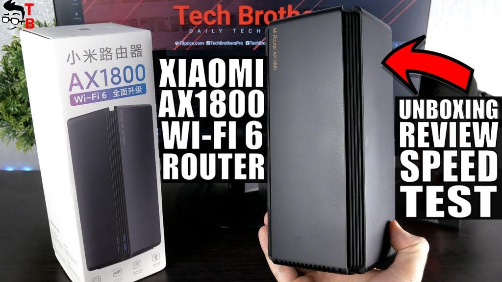 Xiaomi AX1800 Wi-Fi 6 Router - Hands-on REVIEW, Unboxing, Speed Test