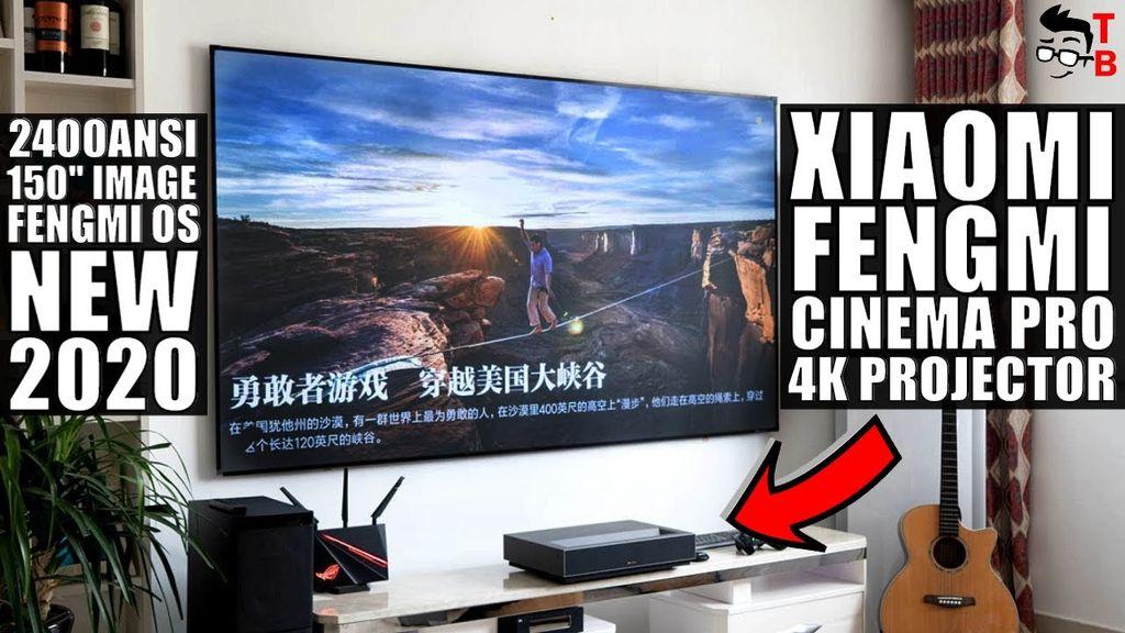 Xiaomi Fengmi Laser Projector TV 4K Cinema Pro NEW 2020 Version!