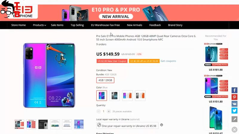 Elephone E10 Pro PREVIEW: Is It Better Than Elephone E10?