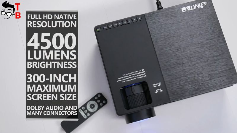 JIMTAB M18 REVIEW: Should You Buy This Projector In 2020?