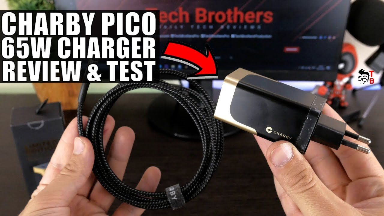 Charby Pico Gold REVIEW: 65W charger for any laptops and smartphones!
