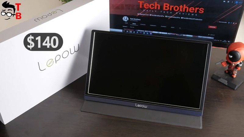 Lepow Z1 REVIEW: USB C Portable Monitor For Any Device!
