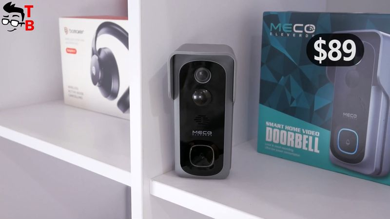 MECO Smart Video Doorbell REVIEW: Only $53 Wi-Fi Doorbell with Chime!