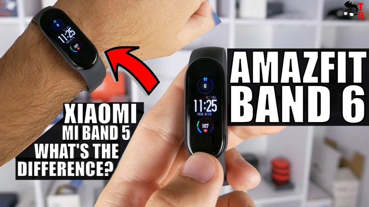 Amazfit Band 6 vs Xiaomi Mi Band 5: What Are The Differences?
