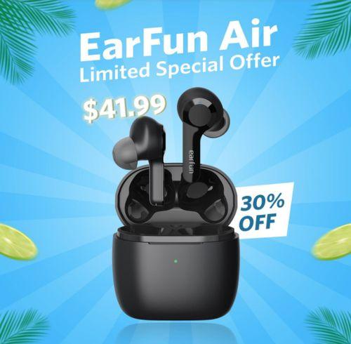 EarFun Air - Black - COUPON: EFAIR30