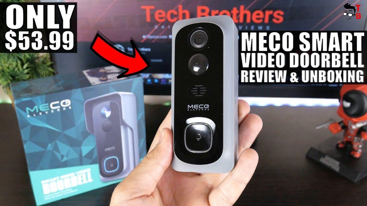 MECO Smart Video Doorbell REVIEW: Doorbell for Home Security!