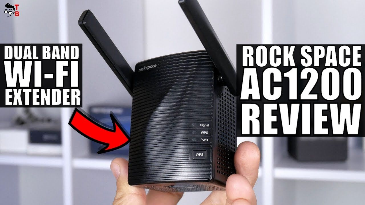 Rock Space AC1200 REVIEW: Wi-Fi Extender To Get Rid Of Dead Spots