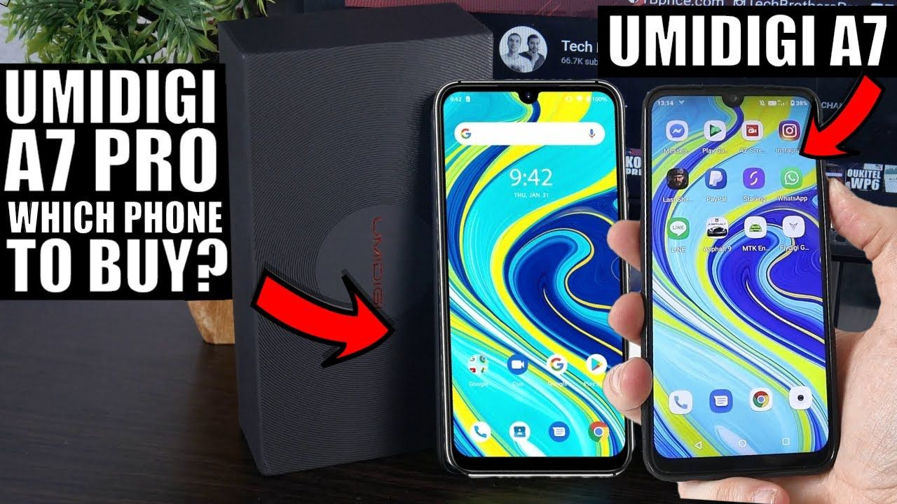 UMIDIGI A7 and UMIDIGI A7 Pro: Which smartphone is better?