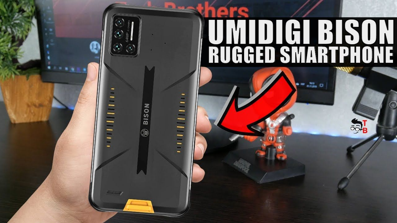 UMIDIGI Bison - The first rugged smartphone from UMIDIGI!