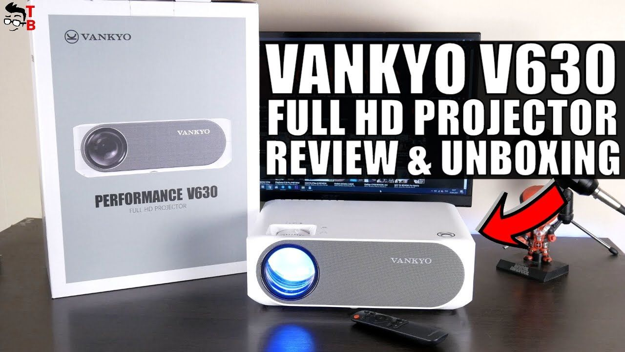 Vankyo Performance V630 - REVIEW, Unboxing and Projection Quality