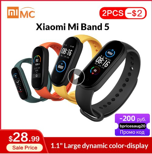Original Xiaomi Mi Band 5 - Aliexpress