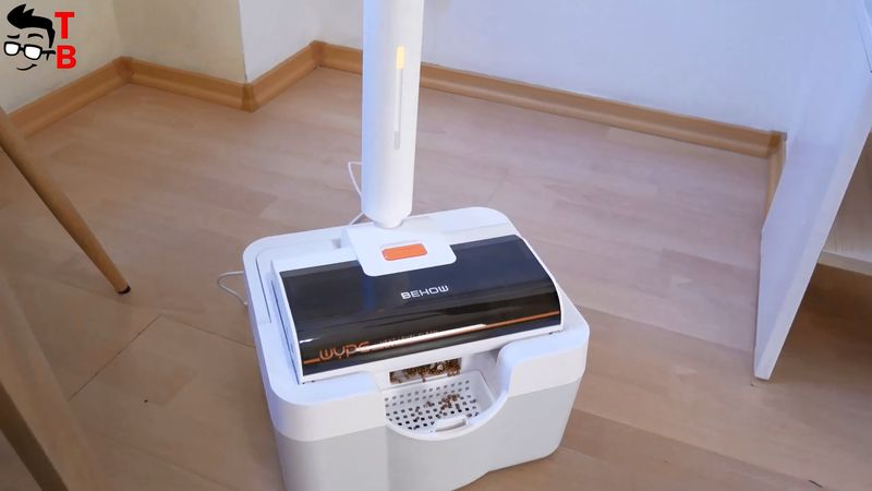 Behow WYPE REVIEW: Wet & Dry Cleaner With Self-Cleaning Station