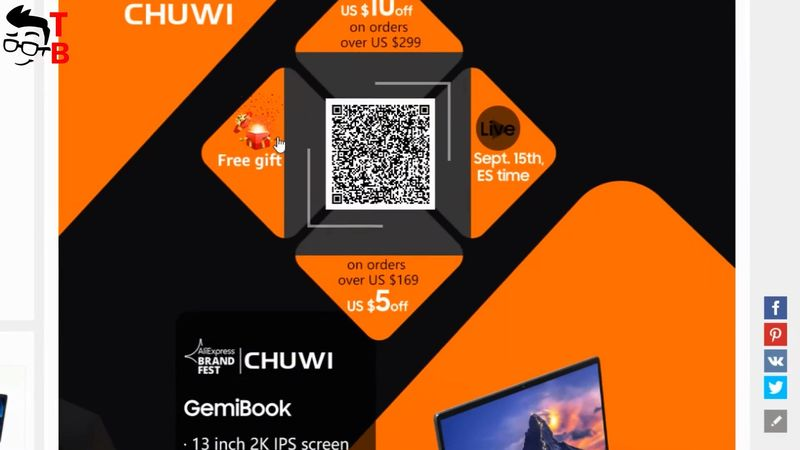 Chuwi GemiBook PREVIEW: 12GB RAM Ultrabook For Only $299!
