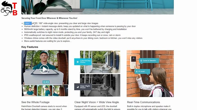 HeimVision HMB1 REVIEW: Wireless Smart Video Doorbell 2020!