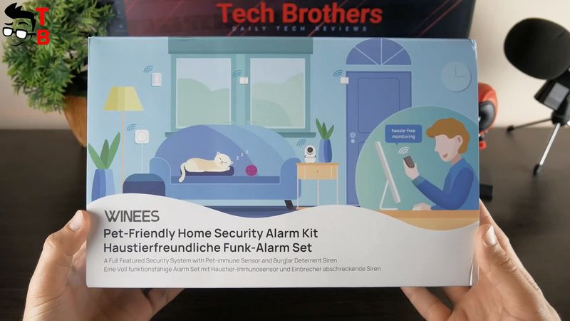 WINEES Pet-Friendly Home Security Alarm Kit - REVIEW
