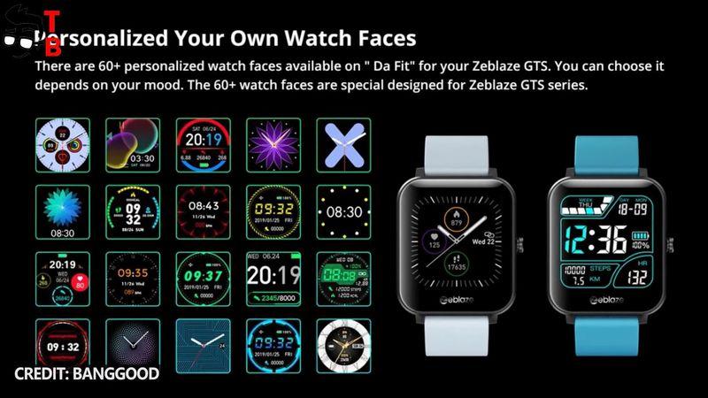 ОБЗОР Zeblaze GTS: часы за $ 19 позволяют звонить по телефону!