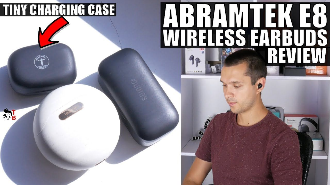 ABRAMTEK E8 REVIEW: TWS Earbuds With Tiny Charging Case!