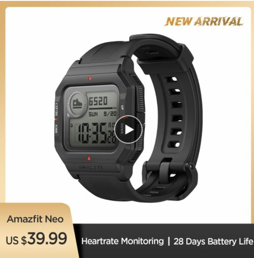 NEW 2020 Amazfit Neo Smart Watch - Aliexpress
