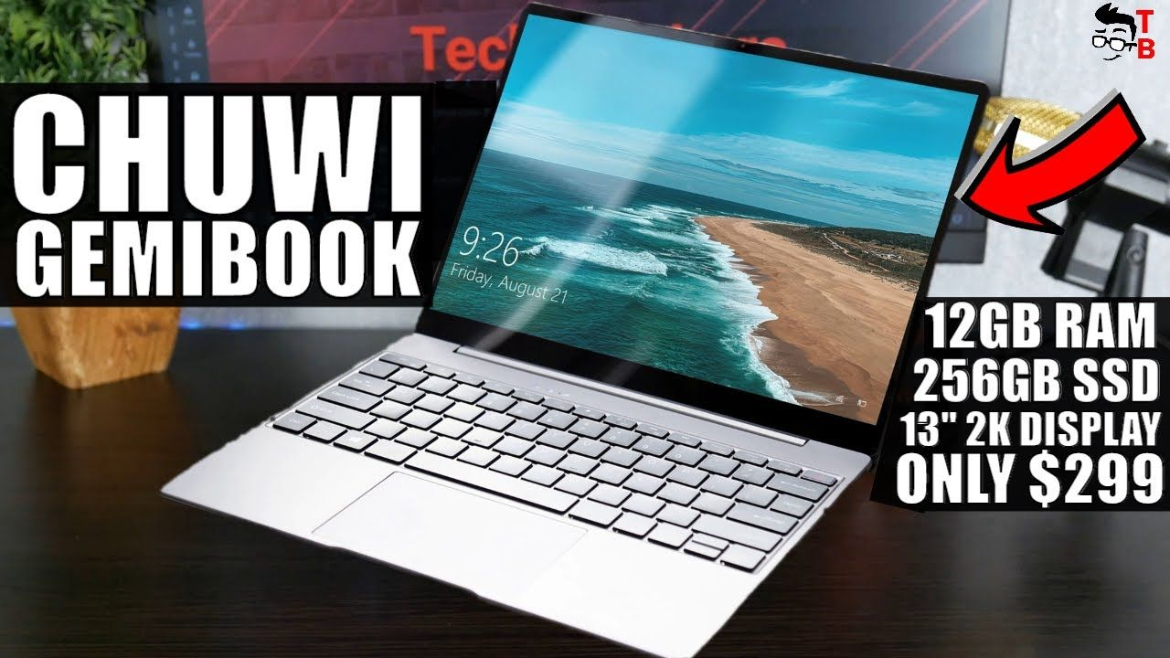 Chuwi GemiBook Has 12GB RAM and Price Only $299!