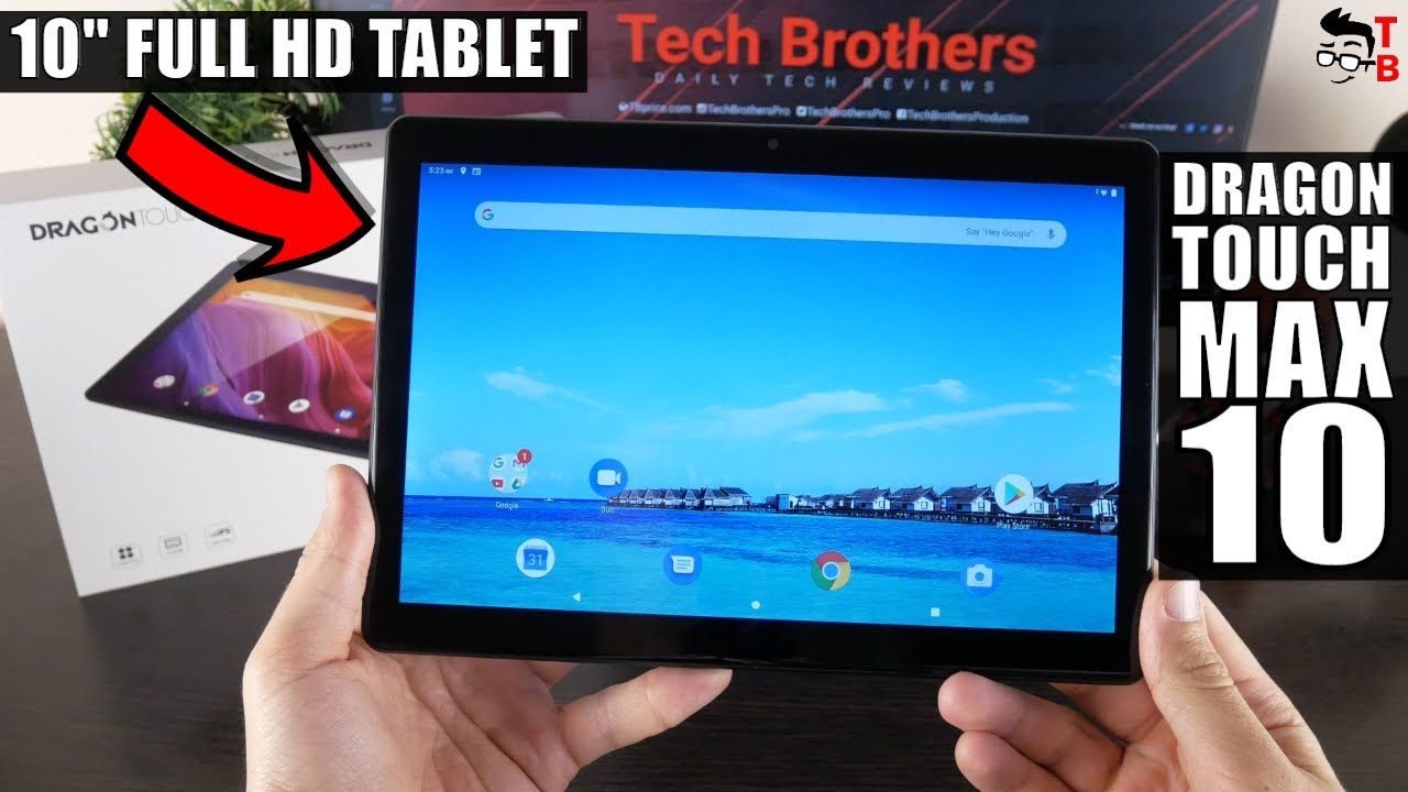 Dragon Touch Max 10 REVIEW: Is It A Good Tablet For 2020?