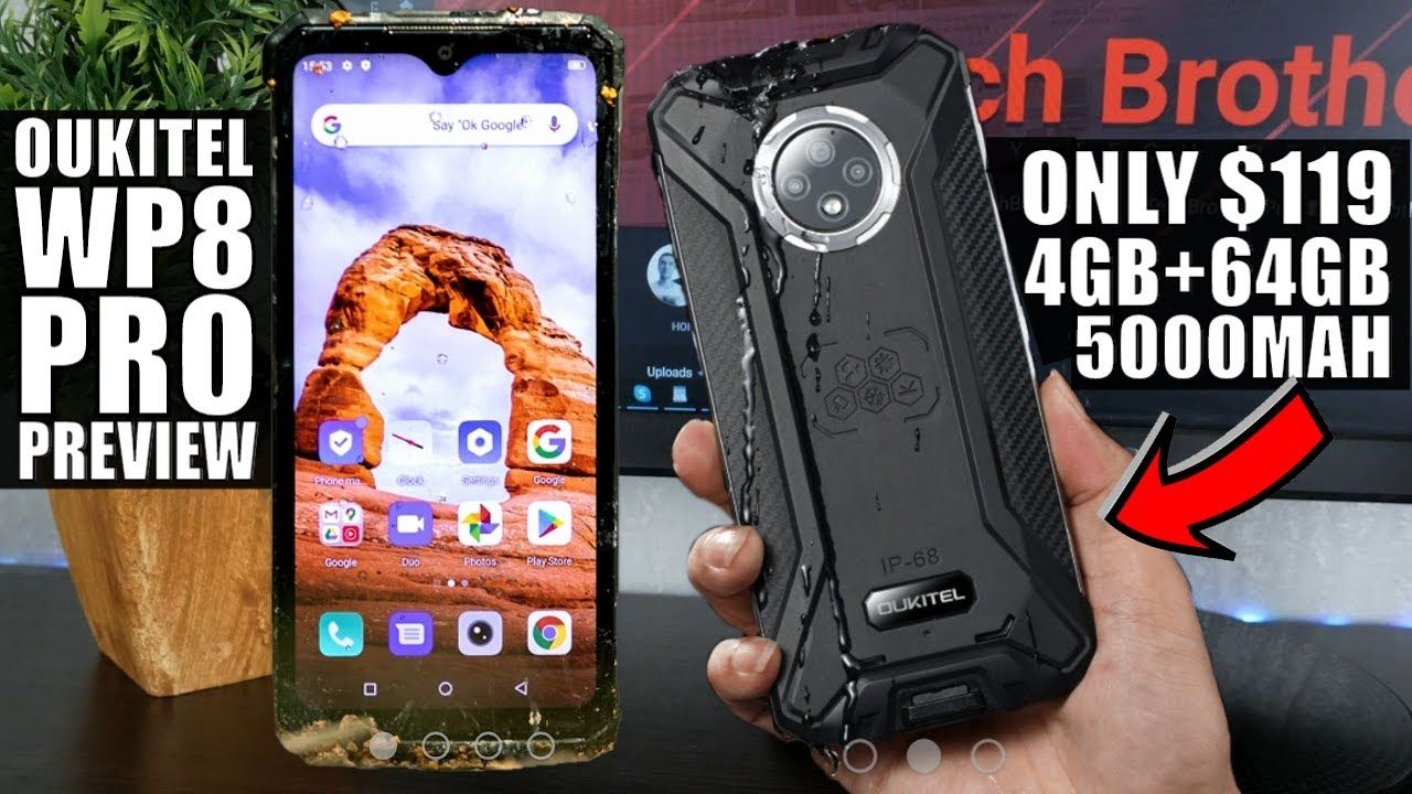 vWhy Oukitel WP8 Pro Is A Sports Smartphone? Only $119 Rugged Phone