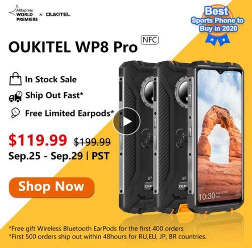 Newest OUKITEL WP8 Pro - Aliexpress