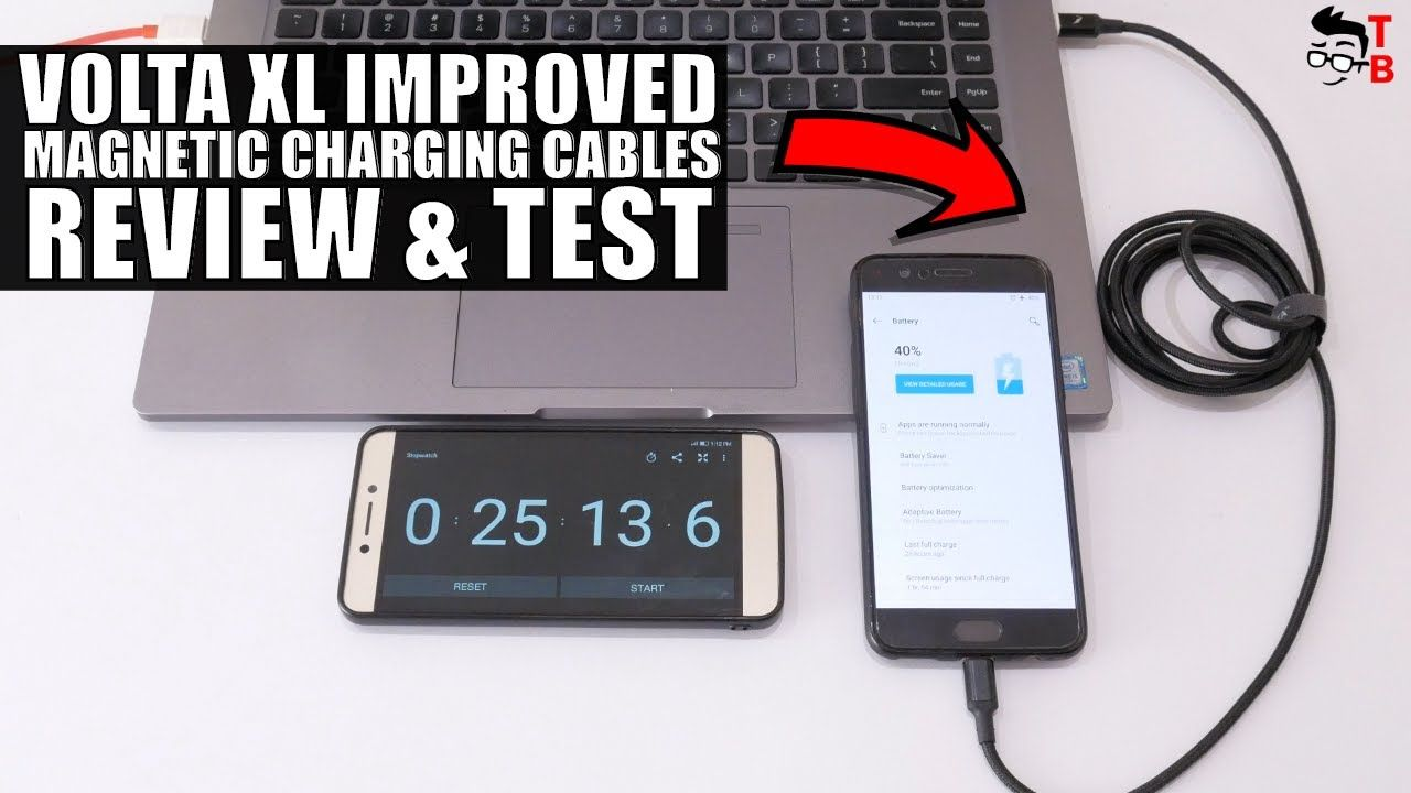Volta XL Improved REVIEW: Magnetic USB C Charging Cable
