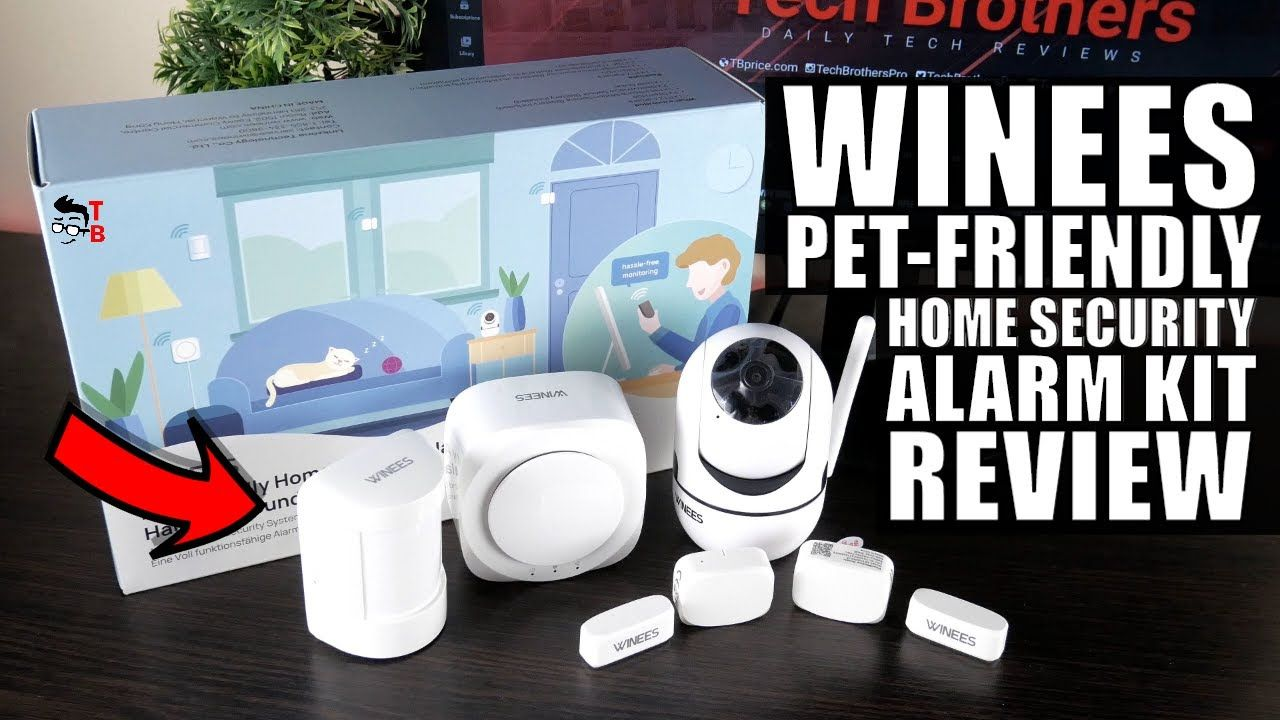 WINEES Pet-Friendly Home Security Alarm Kit - Full REVIEW