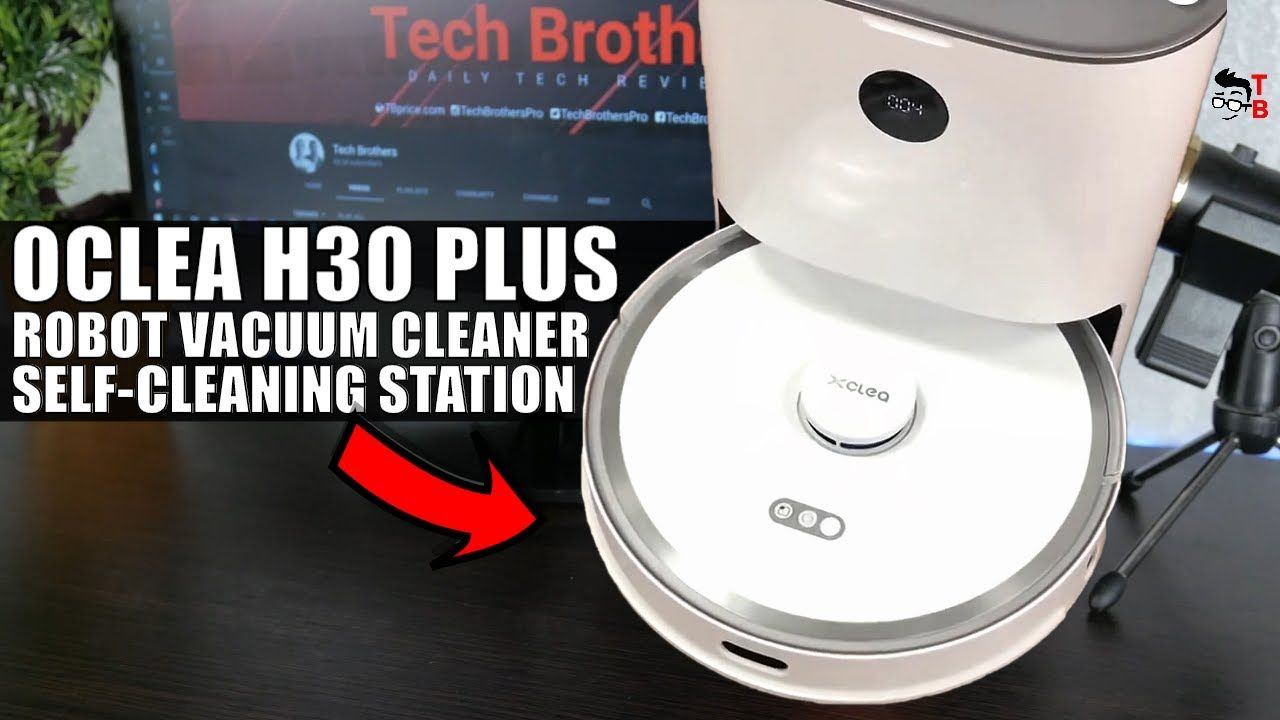 XClea H30 Plus is the first robot vacuum cleaner with self-cleaning station