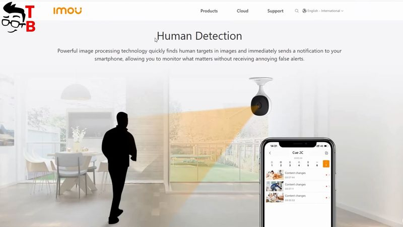 IMOU Cue 2C REVIEW: Human Detection Wi-Fi IP Camera 2020!