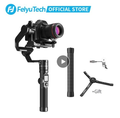 FeiyuTech AK4000 3-Axis Camera DSLR Handheld Stabilizer Gimbal - Aliexpress