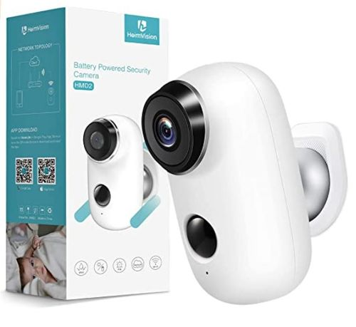 heimvision HMD2 Wireless Rechargeable Battery-Powered Security Camera - Amazon
