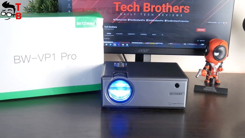 Blitzwolf BW-VP1 Pro REVIEW: I Can't Believe This Projector Is Only $80
