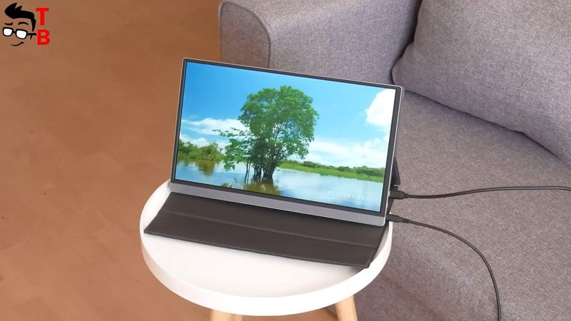 LTAIN Portable Monitor REVIEW: Excellent Color Gamut!