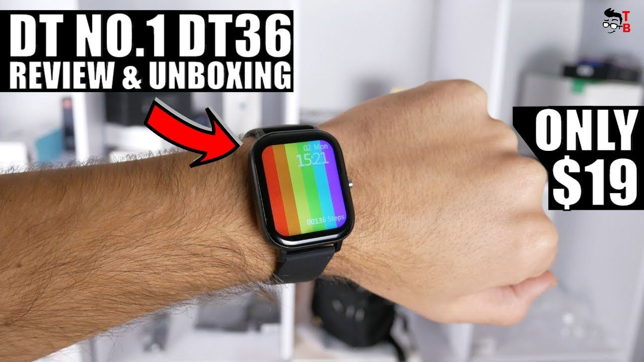 DT NO.1 DT36 REVIEW: Finally, $20 Watch Has Bluetooth Calls!