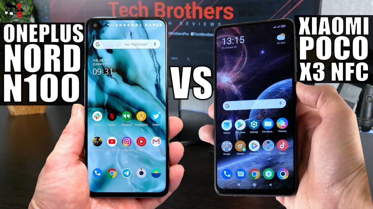 OnePlus Nord N100 vs Poco X3 NFC: Comparison Of $200 Phones!
