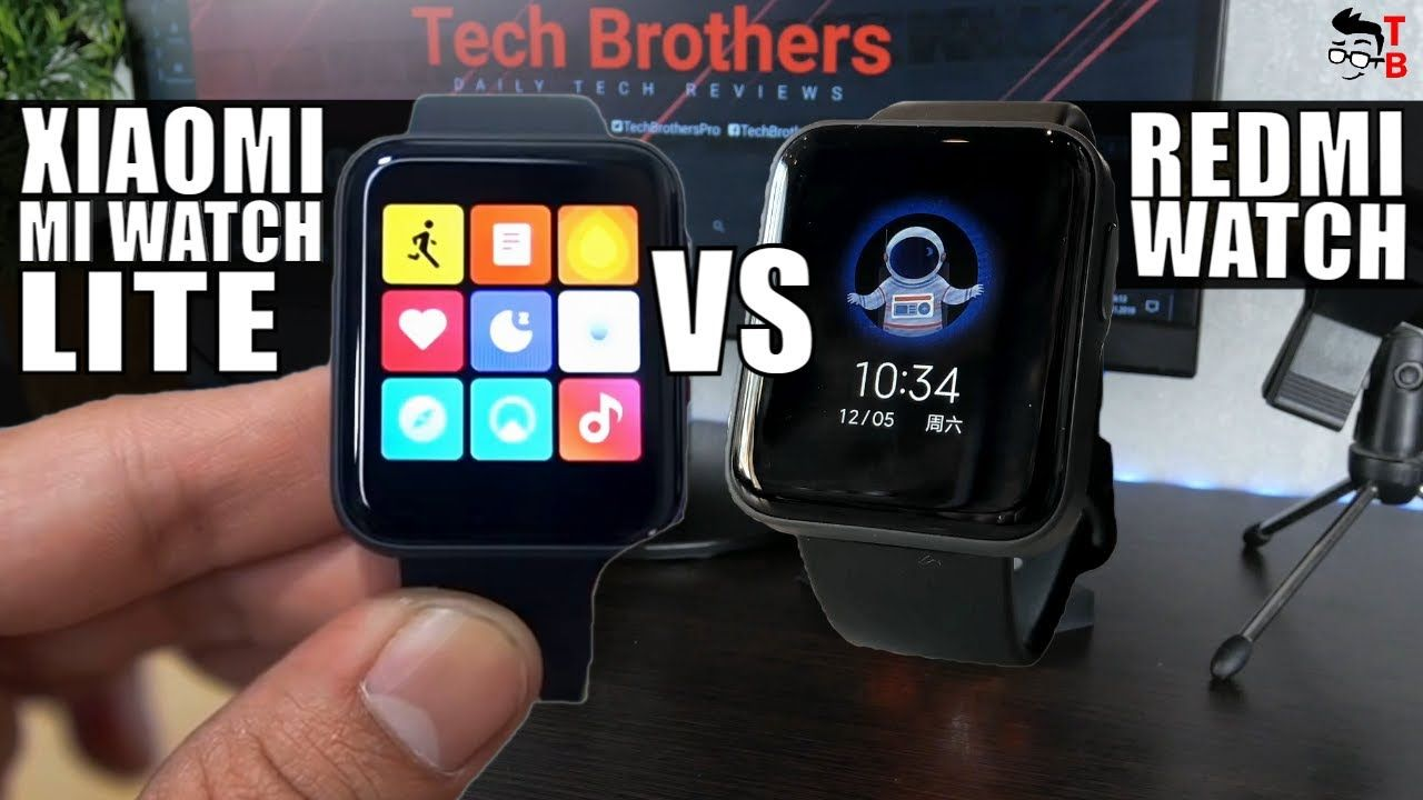 Xiaomi Mi Watch Lite vs Redmi Watch: Is It The Same Watch?