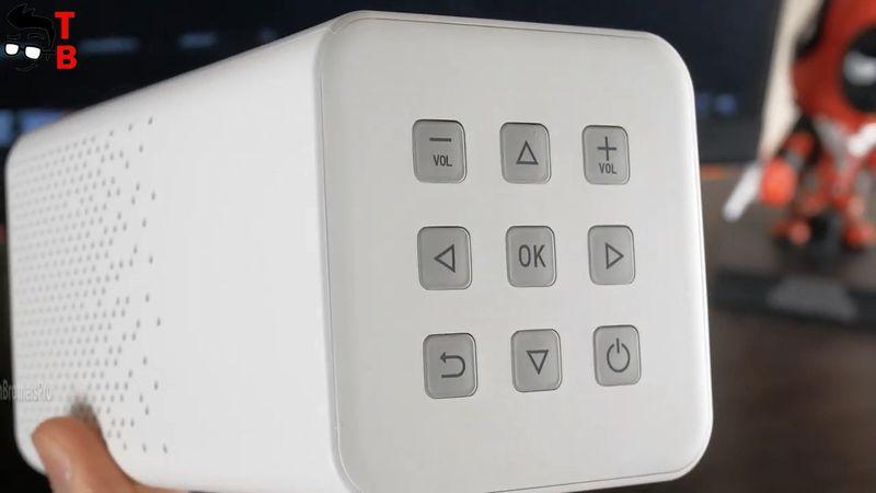 Toumei C900 REVIEW: Budget Portable DLP Projector 2021!