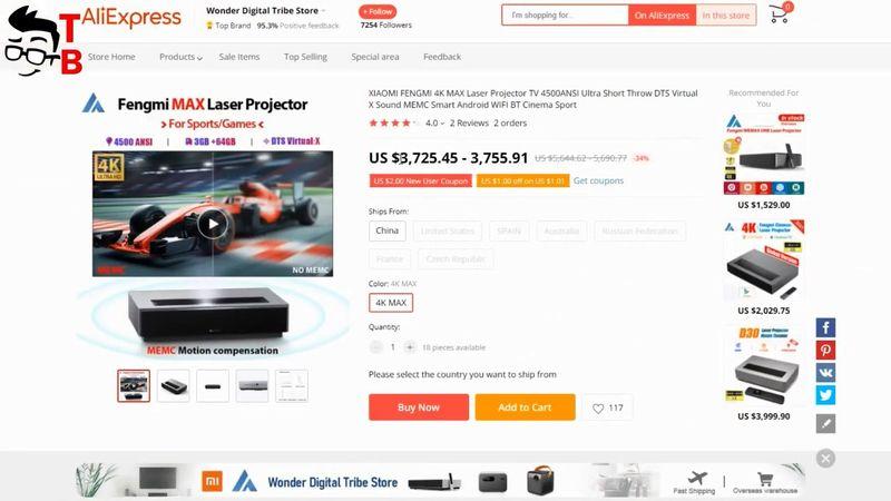 TOP 5 Best Ultra Short Throw Laser Projectors In 2021!