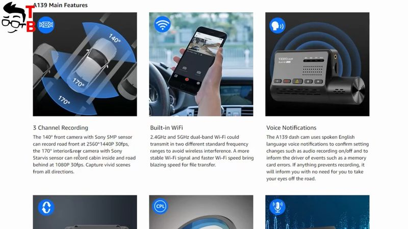 VIOFO A139 REVIEW: The Safety Of Your Car From Three Sides!