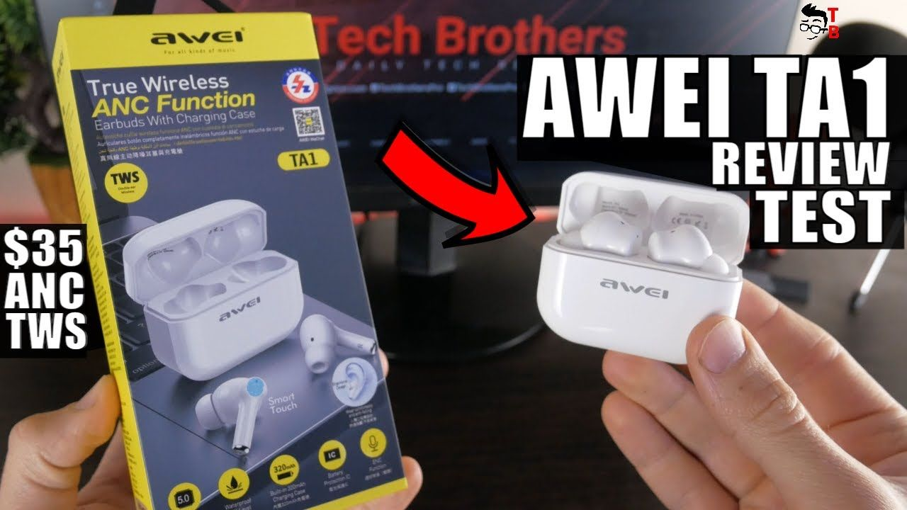 AWEI TA1 REVIEW: The Cheapest ANC Earbuds With Great Microphone!
