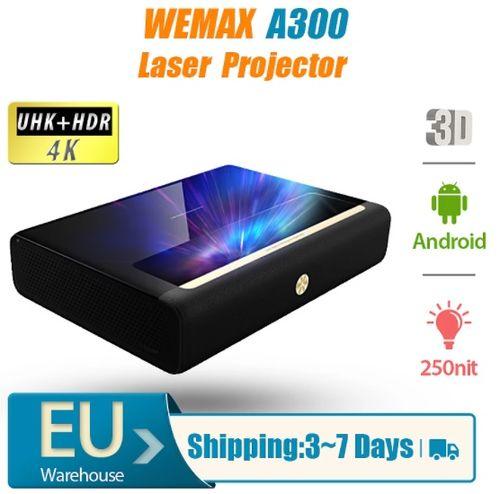 WEMAX A300 Laser Projector 4K - Aliexpress