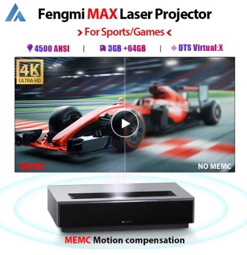 XIAOMI FENGMI 4K MAX Laser Projector TV - Aliexpress