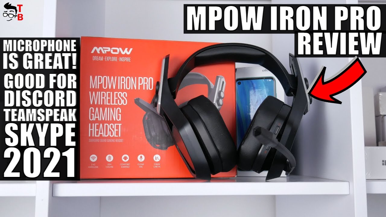 MPOW Iron Pro Full REVIEW: 2021 Gaming Headset For PS5, Xbox, PC