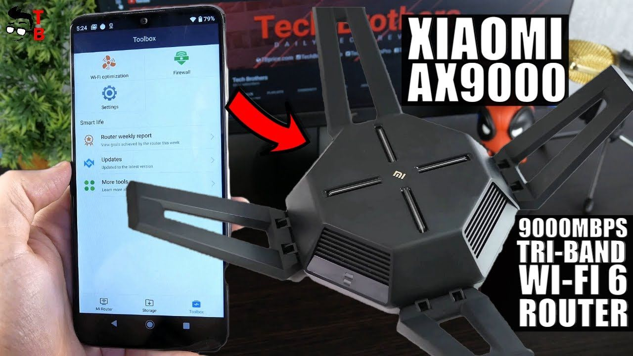 The Most Powerful Wi-Fi 6 Router 2021! Xiaomi Mi AX9000