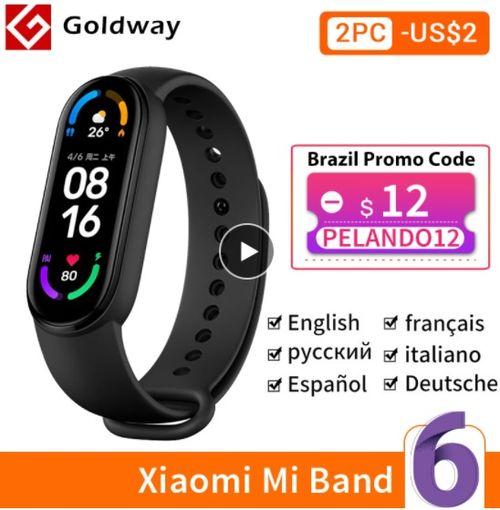 Xiaomi Mi Band 6 Smart Bracelet - Aliexpress