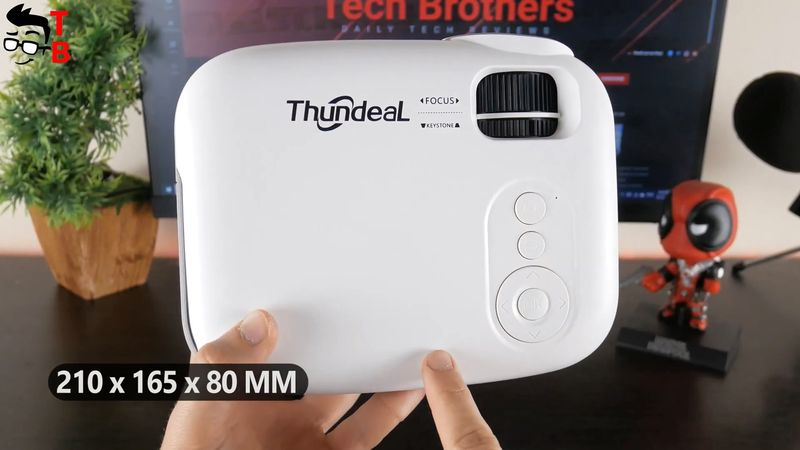 Thundeal TD92 REVIEW: 2021 Projector With Wi-Fi, Airplay и Miracast!