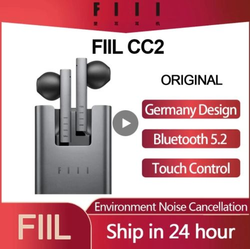 Original FIIL CC 2 CC2 Wireless Bluetooth 5.2 Earphones - Aliexpress